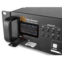 PDV360MP3 100V 4-zone versterker met o.a. Bluetooth
