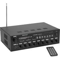 CPZ-120P ELA PA-versterker 120 W 4-kanaals 4 zones