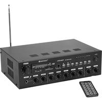 Omnitronic CPZ-60P ELA PA-versterker 60 W 4-kanaals 4 zones
