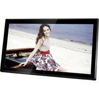 Braun Phototechnik DigiFrame 1731 8GB Digitale fotolijst 43.9 cm 17.3 inch 1920 x 1080 Pixel 8 GB Zwart