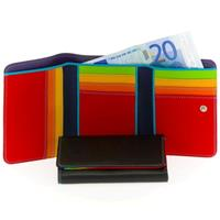 Medium Tri-Fold Wallet Portemonnee Black/ Pace