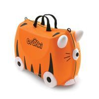 Kinderkoffer - Tijger Tipu - Oranje