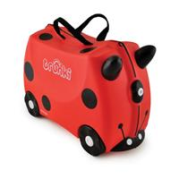 Trunki Ride-On Koffer Harley Lieveheersbeestje 25 liter