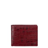 DR Amsterdam Croco Billfold Red 24559