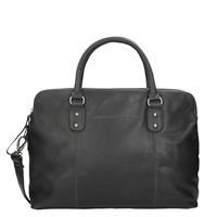 "Chesterfield Schoudertas Laptop Maria 15.4"" Black"