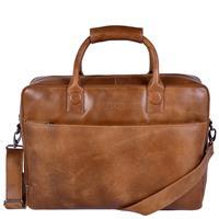 DSTRCT Fletcher Street Business Laptoptas 17'' Cognac 016420