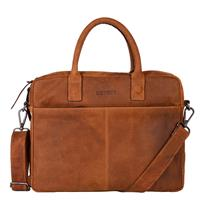 Wall Street Business Laptoptas 15.4'' Cognac