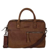 Wall Street Business Laptoptas 15.4'' Double Brown