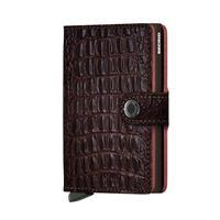 Mini Wallet Portemonnee Nile Brown