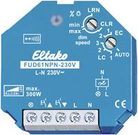 Eltako FUD61NPN-230V - Wireless actuator universal dimming Switch, FUD61NPN-230V