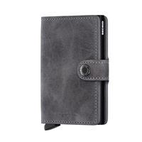 Secrid Mini Wallet Portemonnee Vintage Grey Black