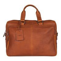 "burkely Antique Avery Workbag 15,6"" Cognac"