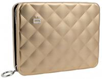 Ögon Designs Quilted Passport Portefeuille Rose Gold