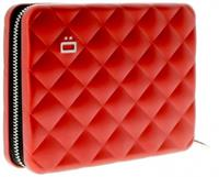 Ögon Designs Quilted Passport Portefeuille Red