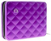 Ögon Designs Quilted Passport Portefeuille Purple