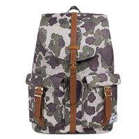 Herschel Supply Co. Herschel Dawson Rugzak Frog Camo/ Tan Synthetic Leather