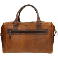 MicMacbags Montana weekendtas brown