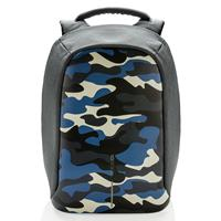 XD Design Bobby Compact anti diefstal rugzak Camouflage Blauw