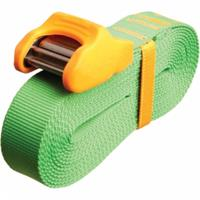 Sea To Summit Spanriem Tie Down Silicone Cam Cover 4.5m 2 Pack Lime/orange - Lime