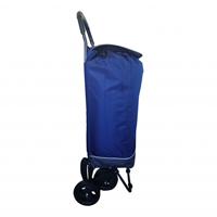 Secc boodschappenwagen - Korenblauw
