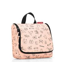 Reisenthel ® toiletbag kids cats and dogs roze - Oranje