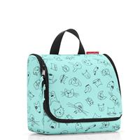 Reisenthel ® toiletbag kids cats and dogs mint - Turquoise