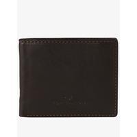Tom Tailor open te klappen portemonnee van leer, braun / brown