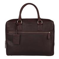 """Burkely Antique Avery Laptopbag 13.3"""" Brown 798156"""