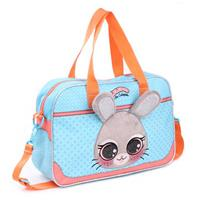 Basic Lulupop & the Cutiepies Bunny Schoudertas Blauw/Oranje