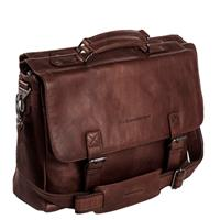 "Belfast Aktetas 15.6"" brown"