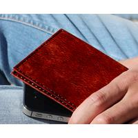 Dynomighty Design Dynomighty Tyvek Billfold - Brown Leather