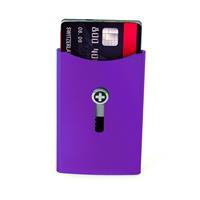 Wagner of Switzerland Wagner Superslim Wallet Violet