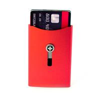 Wagner of Switzerland Wagner Superslim Wallet Flash Red