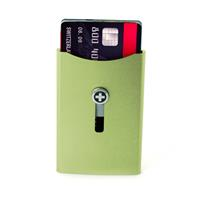 Wagner of Switzerland Wagner Superslim Wallet Sage Green