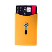 Wagner of Switzerland Wagner Superslim Wallet Deep Orange