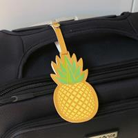 Ananas kofferlabel