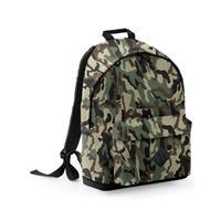 Bagbase Camouflage rugtas/schooltas/rugzak 42 cm Multi