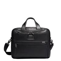 Tumi Alpha Organizer Brief Leather black
