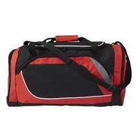 Rood met zwarte sporttas/reistas 45 liter Rood
