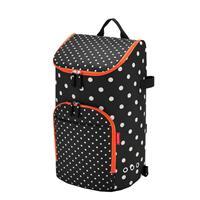 Citycruiser Bag Tas voor Boodschappentrolley - Polyester - 45 L - Mixed Dots Zwart;Wit;oranje