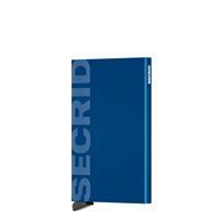 Secrid Cardprotector Kaarthouder Laser Logo Blue