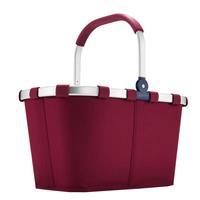 Reisenthel Carrybag Boodschappenmand - Polyester - 22L - Dark Ruby Bordeaurood;blauw