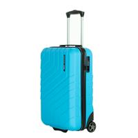 Travelbags Barcelona 2 Wheel Trolley 55 sky blue Harde Koffer