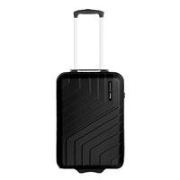 Travelbags Barcelona 2 Wheel Trolley 55 black Harde Koffer