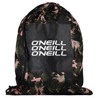 O'Neill Graphic BM Gymtas Black AOP W/ Yellow