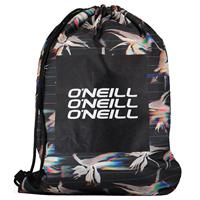 O'Neill Graphic BM Gymtas Black AOP W/ Yellow 2
