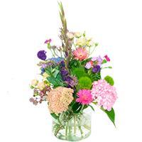Debloemist Palet boeket roze lila-paars