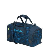 Satch Sport Duffle blue compass Weekendtas