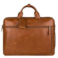 Burkely On The Move 4-Way Workbag cognac