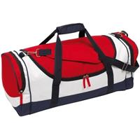Sporttas/reistas blauw/rood/wit 45 liter Multi